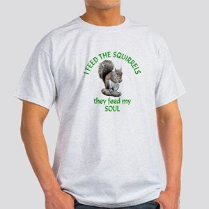 Squirrel Feeder Light T-Shirt
